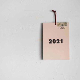 2021年 週めくりカレンダー/掛けられるタイプ