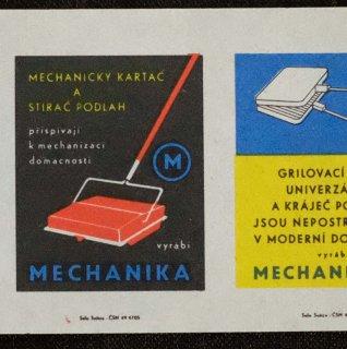 チェコのマッチラベル断裁なし298(家電)