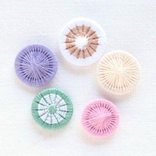 チェコの糸ボタン/5個セット(18mm1個入り)1