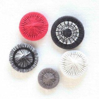 チェコの糸ボタン/5個セット(19mm1個入り)1