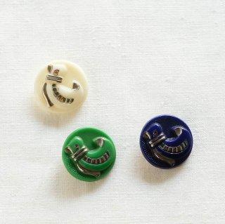 アンティークガラスボタン/袋