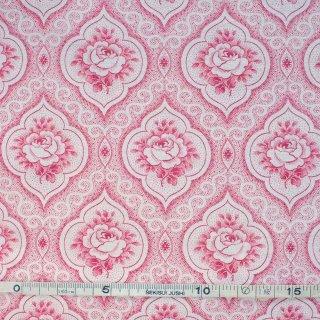 ジャーマンヴィンテージファブリック/赤いバラ枠