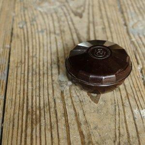 ベークライトの容れ物(ELIDAこげ茶)/チェコ
