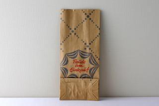 DDR時代のデッドストック紙袋 水玉