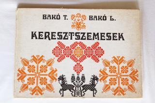 クロスステッチ刺しゅうの本『keresztszemesek』/ルーマニア発行