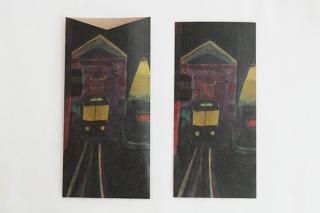 CRAFT PAPER LOVE 引き出すカード&封筒/tram