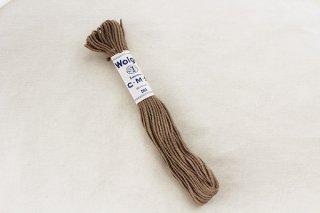 ドイツの刺繍用の毛糸(暗めのベージュ)