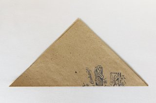 三角アジ紙袋(パン)/DDR
