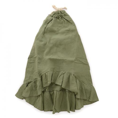 【15%OFF】Little Creative Factory リトルクリエイティブファクトリー DUNE APRON DRESS / CACTUS (KIDS)
