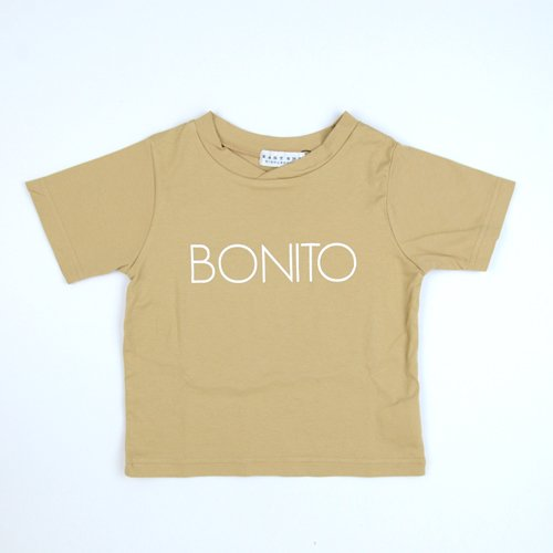 SS18 EAST END HIGHLANDERS /  tee shirt「BONITO」/ beige