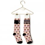 WOLF&RITA ウルフアンドリタ BABY LONG SOCKS - STRIPES BLACK