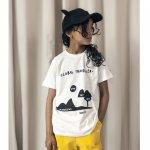 BEAULOVES ビューラブズ Short Sleeve Fin T Shirt, Vanilla, Landscape