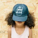 wynken ウィンケン Love Machine Cap - Denim