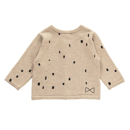 Mini Sibling - Baby Tricot Sweater Ca...