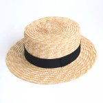 Willy's  ウィリーズ  Canotier Hat Kids / Black
