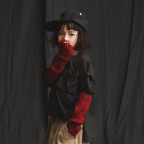 GRIS グリ Arm Warmers - Red