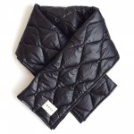 GRIS グリ Quilting Stole - Black