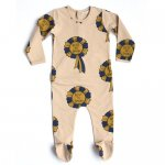 carbon soldier Rocky Mountain Romper - Beige/Multi
