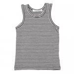 01/212468 MINGO Singlet - B/W stripes [Basics]