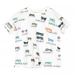 BEAU LOVES Short Sleeve Square T-shirt - Spectacles