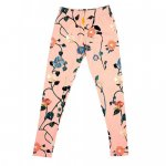 POPUPSHOP. / ポップアップショップ/ LEGGINGS - AOP NUDE ROSE FLOWER