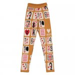 BEAU LOVES ビューラブズ Slim Knit Pants - Dark Camel,Game Of Hearts Jacquard,Various