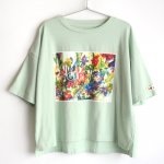 GRIS × FJD × Littowa FLOWERS T-shirts - MINT