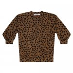 01/212468 MINGO Oversized sweater - Scribble print Kangaroo