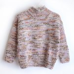 wynken ウィンケン SLOUCH KNIT ROLL NECK - LILAC MIST