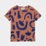 BOBO CHOSES ボボショーズ Abstract Buttoned T-shirt