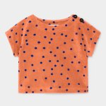 BOBO CHOSES ボボショーズ Dots Terry Short Sleeve Sweatshirt (BABY)