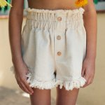 yellowpelota MARY JANE SHORT - NATURAL