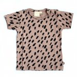Mini Sibling Short Sleeve Top - Cacao