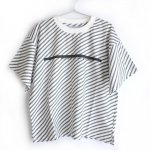 <img class='new_mark_img1' src='https://img.shop-pro.jp/img/new/icons24.gif' style='border:none;display:inline;margin:0px;padding:0px;width:auto;' />【SALE】arkakama Cotton big Long S/S Tee - Striper