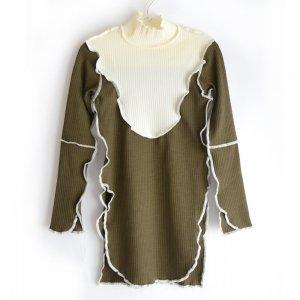 GRIS グリ Rib Shirts / Moss (M)