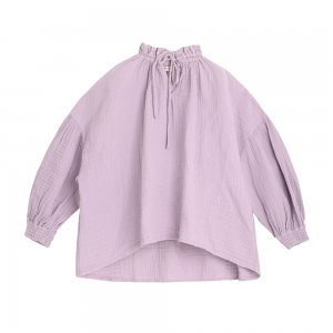 【the new society】【2020秋冬】OLIVIA BLOUSE - LAVANDA