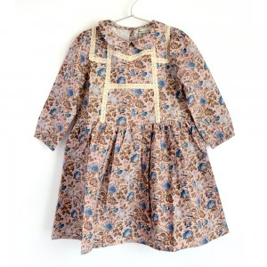 【the new society】【2020秋冬】LUISA DRESS - VINTAGE FLOWER