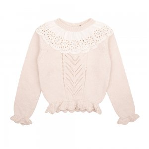 【the new society】【2020秋冬】GARANCE SWEATER - NATURAL