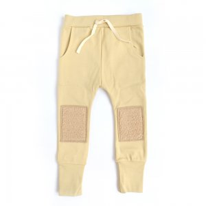 【arkakama】【20秋冬新作】SPD SAROUEL LEGGINGS - CUSTARD MOCO