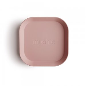 MUSHIE - Square Dinnerware Plates - (Blush) 2枚セット