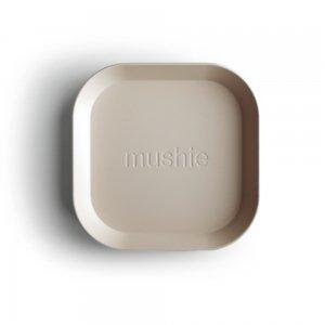 MUSHIE - Square Dinnerware Plates - (Ivory) 2枚セット