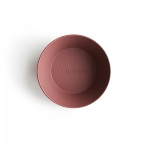 MUSHIE - Round Dinnerware Bowl - (Woodchuck) 2枚セット