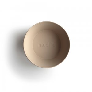 MUSHIE - Round Dinnerware Bowl - (Vanilla) 2枚セット