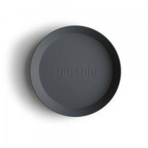 MUSHIE - Round Dinnerware Plates - (Smoke) 2枚セット