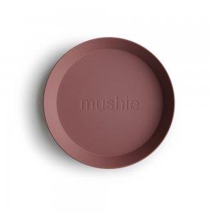 MUSHIE - Round Dinnerware Plates - (Woodchuck) 2枚セット