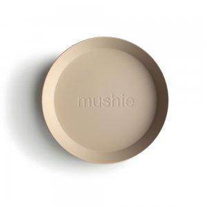 MUSHIE - Round Dinnerware Plates - (Vanilla) 2枚セット