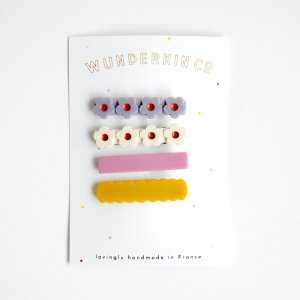 Wunderkin Co.  CLIP 4color SET (A)