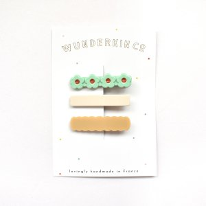 Wunderkin Co.  CLIP 3color SET (A)
