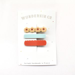 Wunderkin Co.  CLIP 3color SET (E)