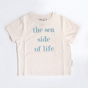 【the new society】【2021 SS】 SEA TEE - BLUSH